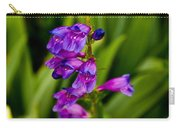Blue Bells Wild Flower Carry-all Pouch
