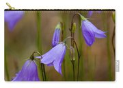 Blue Bells Wyoming Carry-all Pouch