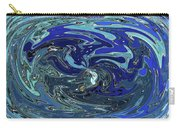 Blue Bird Abstract Carry-all Pouch