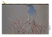 Blue Bird Colored Pencil Carry-all Pouch