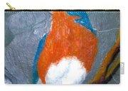 Blue Bird On Slate Carry-all Pouch