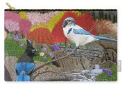 Blue Birds Carry-all Pouch