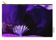 Blue Blue Iris Carry-all Pouch
