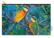 Blue Breasted Bee Eater Carry-all Pouch