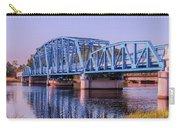 Blue Bridge Georgia Florida Line Carry-all Pouch