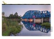 Blue Bridge Over The St. Marys River Kingsland, Georgia Carry-all Pouch