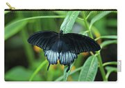 Blue Butterfly II Carry-all Pouch