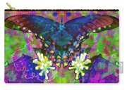 Blue Butterfly Pop Carry-all Pouch