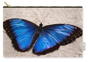 Blue Buttterfly Carry-all Pouch