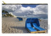 Blue Cabana Carry-all Pouch