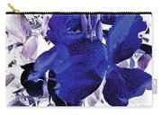 Blue Canna Lily Carry-all Pouch