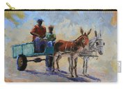 Blue Cart Carry-all Pouch