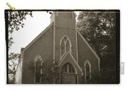 Blue Church In Gloucester Carry-all Pouch