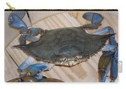 Blue Claw Crab Carry-all Pouch