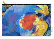 Blue Cockatiel Carry-all Pouch
