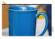 Blue Coffee Cup Carry-all Pouch