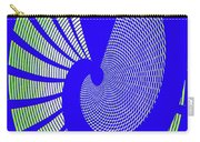 Blue Colored Metal Panel Tempe Center For The Arts Abstract Carry-all Pouch