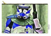 Blue Commander Stormtrooper At Work - Pa Carry-all Pouch