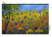 Blue Cornflowers 7761 Carry-all Pouch