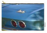 Blue Corvette Stingray Carry-all Pouch