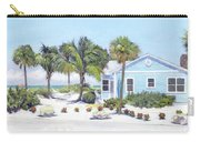 Blue Cottage On Siesta Key Beach, Access 3 Carry-all Pouch