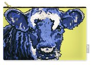 Blue Cow Carry-all Pouch