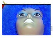 Blue Curled Cutie Carry-all Pouch