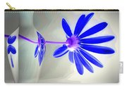 Blue Daisy Delight Carry-all Pouch