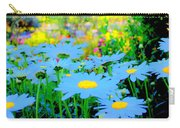 Blue Daisy Carry-all Pouch