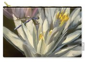 Blue Damselfly Carry-all Pouch