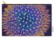 Blue Dandelion Carry-all Pouch
