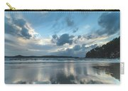 Blue Dawn Seascape With Cloud Reflections Carry-all Pouch
