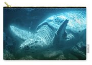 Blue Depths Sea Turtle Carry-all Pouch