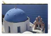 Blue Dome Pink Bell Tower Carry-all Pouch