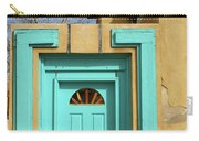 Blue Door In Albuquerque Carry-all Pouch