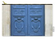 Blue Door In Paris Carry-all Pouch