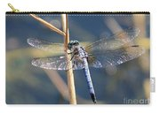 Blue Dragonfly Carry-all Pouch by Carol Groenen