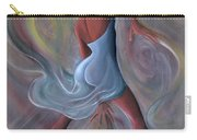 Blue Dress Carry-all Pouch by Ikahl Beckford