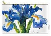 Blue Dutch Iris For Kappa Kappa Gamma Carry-all Pouch