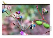 Blue Dwarf Blossom Carry-all Pouch