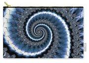 Blue Escheresque Carry-all Pouch
