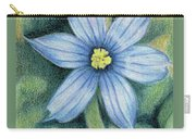 Blue Eyed Grass - 1 Carry-all Pouch