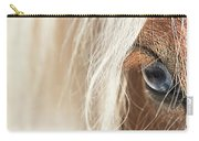 Blue Eyed Horse Carry-all Pouch
