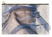 Blue Fabric Carry-all Pouch