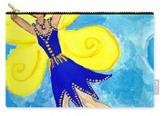 Blue Fairy Detail Of Duck Meets Fairy Ballet Class Carry-all Pouch