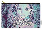Blue Fairy Princess Carry-all Pouch