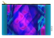 Blue Fashion Carry-all Pouch
