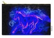 Blue Fire Horse - Da Carry-all Pouch
