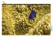 Blue Fish In Coral Carry-all Pouch