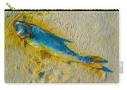 Blue Fish Carry-all Pouch